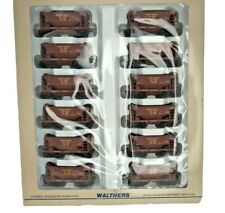 HO Walthers Union Pacific Ore Cars 12 Pack in Original Box