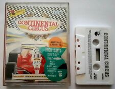 Continental Circus (1989) - Virgin Games - Amstrad Cassette