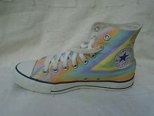 LADIES CONVERSE ALL STAR MID TOP ANKLE MULT COLOURS TEXTILE TRAINERS UK 7, EU 40