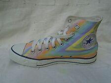 Converse All Star Mid Top señoras del tobillo Mult Colores Textil Zapatillas UK 7, EU 40
