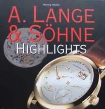 ARGUS/PRICE GUIDE : A. LANGE & SÖHNE (watch,montre,livre,guide de prix)