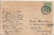 Genealogy Postcard - Hamilton - High Street - Canterbury - Kent - 3307A