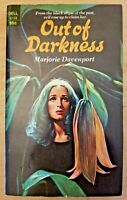 Out of Darkness by Marjorie Davenport (1st Dell printing, 1974)