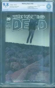 Walking Dead 100 CBCS up CGC 9.8 Chromium Ed 1st Negan Adlard Wraparound Cover