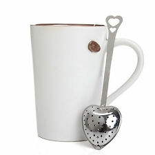 Stainless Steel Loose Tea Infuser Leaf Strainer Filter Diffuser Herbal Spice H&P