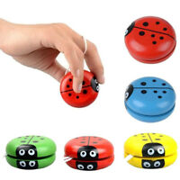 Yoyo Classic Toy Insect Bug Ladybug YoYo Ball Children Funny Wooden Toy Gifts
