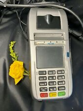 First Data Fd130 Dial/Ip Chip Insert or Tap Credit Card Machine with Power Cord
