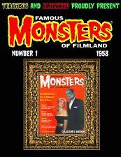 Famous Monsters of Filmland on DVD in PDF format entertainment memoribilia