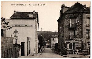 CPA 92 - CHAVILLE (Hauts de Seine) - 3852. Rue Carnot - E.M.