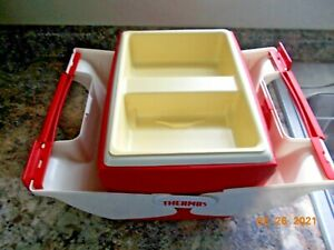 Thermos Model 7707 L'il Cool Date 7 Quart Cooler with Tray Insert