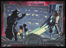 Star Wars 2016 Masterworks Great Rivalries Darth Vader Luke Skywalker GR-2 Topps