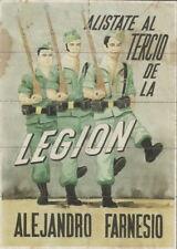 0930 TERCIO DE LA LEGIÓN ALEJANDRO FARNESIO ELCHE-ALICANTE CUPONES RACIONAMIENTO