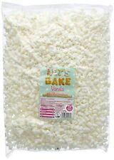 750g Vanilla Mini Marshmallows Halal Retro Sweets Party Bag Let's Bake