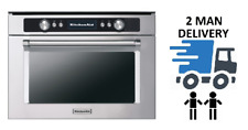 KitchenAid KMQCX45600 Stainless Steel Combi Microwave Oven + 2 Year Warranty