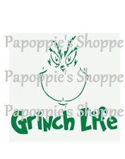 Stencil Grinch Life Grinch face