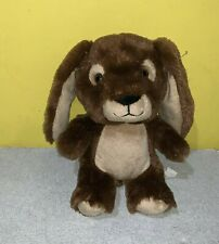 "Build A Bear Smallfrys Buddies Chocolate Brown Bunny Easter Rabbit 7"" Plush"