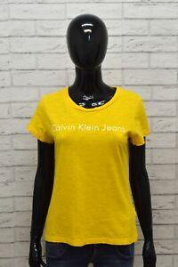 T-Shirt da Donna Calvin Klein Taglia M Maglia Corta Manica Corta  Woman Polo