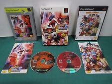 PlayStation2 -- CAPCOM VS SNK 2 & STREET FIGHTER 3rd Value Pack -- JAPAN. 51887