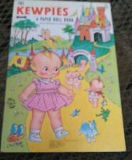 Vintage Kewpie Doll Paper Dolls 1968  Uncut  Very Cute!!