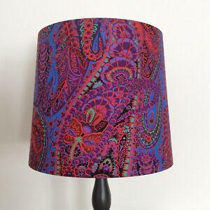 Beautifully Handmade Empire Lampshade In Kaffe Fassett 'Paisley Jungle' Fabric