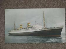 Holland-American Line-Nieuw Amsterdam, unused vintage card