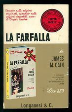 CAIN JAMES M. LA FARFALLA ROMANZO LONGANESI 1968 SUPER POCKET 35