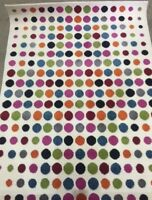 House Additions Multi-Coloured Area Rug  - 120 x 170 cm polka dots modern