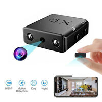 Full HD 1080P Mini Hidden Spy Camera Night Vision Motion Security DVR Camcorder