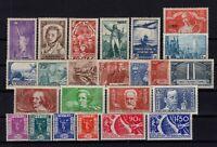 AJ140392/ FRANCE / 1936 / Y&T # 309 / 320 – 322 / 333 MINT MH - CV 285 $