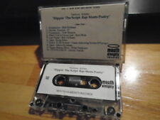 RARE PROMO Flippin the Script CASSETTE TAPE Rap Meets Poetry HIGH PRIEST umc's !