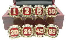 8 Pcs St. Louis Cardinals Hall of Fame Championship Ring Great Gift !!