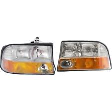 New GM2503173, GM2502173 Headlight Set for GMC Sonoma 1998-2004