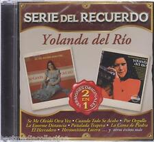 SEALED - Yolanda Del Rio CD NEW Serie Del Recuerdo 20 Tracks BRAND NEW