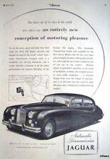 Vintage 1956 JAGUAR 'Mark VII' Saloon Car ADVERT - Original Auto Print AD