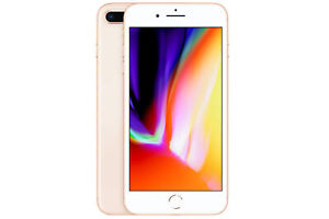 Apple iPhone 8 Plus Smartphone Gold 64GB (ohne SIM-Lock)