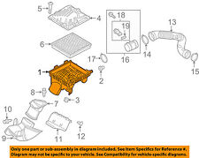 Buick GM OEM 11-13 Regal Air Cleaner Box-Bottom Lower Housing Body 13296372