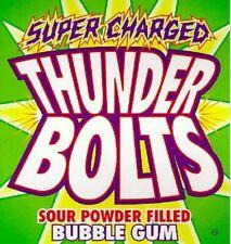 850 Thunder Bolts Sour Filled Gumballs Oak Leaf 24mmnom 1 Gum Balls Candy Vend