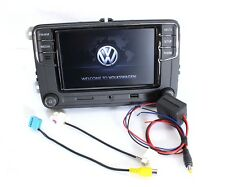 VW RCD330 Plus Desay 6.5'' Bluetooth Stereo With Adapters For Reverse Camera