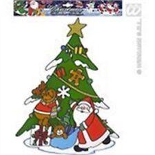 Décorations de fête pour fenêtre noël pour la maison Noël