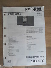 Schema SONY - Service Manual Personal Component System PMC-R30L PMCR30L