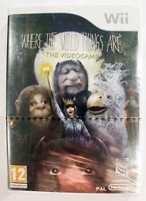 Nintendo Wii Where The Wild Things Are Game - New & Sealed