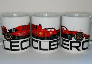 Charles Leclerc Ferrari SF90 F1 11oz Mug - Scuderia GP