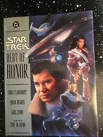 STAR TREK: DEBT OF HONOR - Softcover - Claremont & Hughes - DC Comics 1992 - VG!