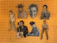 7 Vintage Elvis Presley Magnets