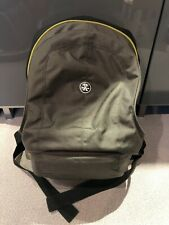 Crumpler Turkish Shower Camera / Laptop Backpack - Dark Nickel / Dark Lime