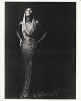 GRACE JONES 8 x 10 FOUND PHOTOGRAPH Vintage B + W FREE SHIPPING Portrait 89 13 T