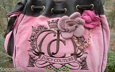 Juicy Couture Pink Flower Daydreamer Handbag Tote Day Dreamer Brand New with Tag