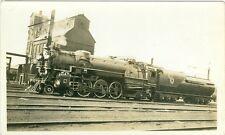Vintage C&O #471 4-6-2 steam loco b&w photo