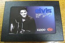 NEW Limited Edition Elvis Zippo Lighter & Case Knife Gift Set 28119 CHOICE S/N!!