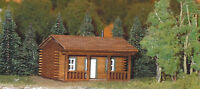 HO SCALE  ** Laser Cut ** Log Cabin House Kit